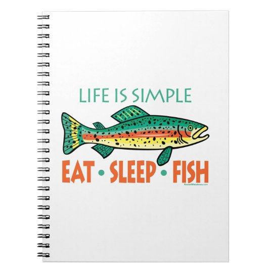 Funny Fishing Saying Notebook