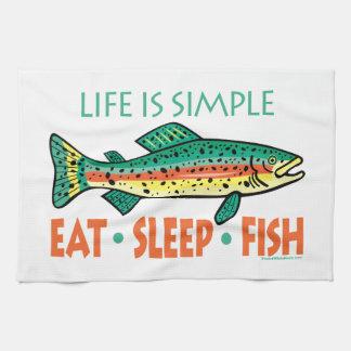 Funny Fishing Saying Towels