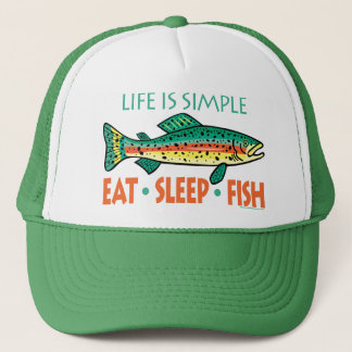 Funny Fishing Saying Trucker Hat