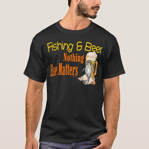Funny Fishing Shirt Fishing Humor Fishing Beer