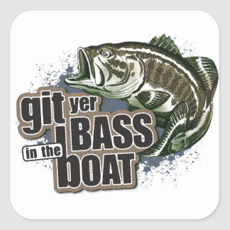 Funny Fishing Stickers