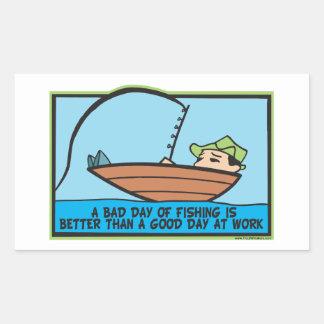 Funny Fishing Sticker