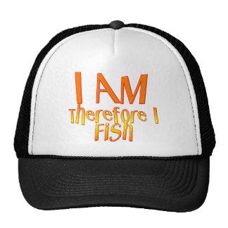 Funny Fishing T-Shirt Fishing Humor Fishing I Fish Trucker Hat