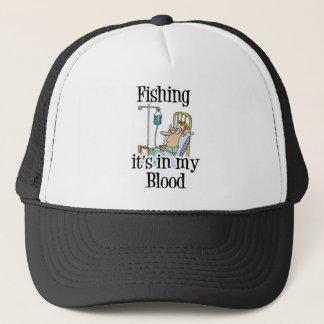 Funny Fishing T-Shirt Fishing Humor Fishing IV Trucker Hat