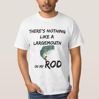 "Funny Fishing T Shirt ""The Largemouth Bass"""