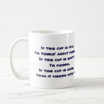 Funny Fishing Themed Coffee Mug