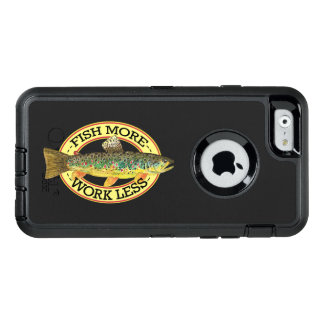 Funny Fishing Words for a Fisherman OtterBox iPhone 6/6s Case