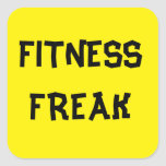 FUNNY FITNESS INSTRUCTOR STICKERS