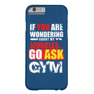 Funny fitness items barely there iPhone 6 case