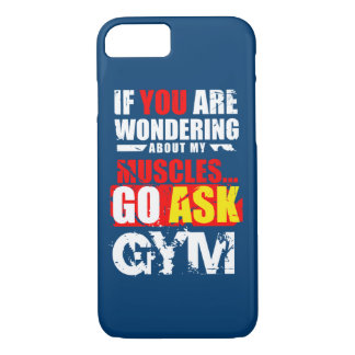 Funny fitness items iPhone 7 case
