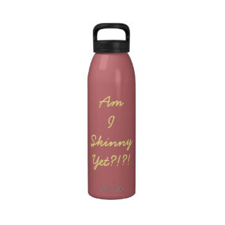 Funny Fitness Quote Water Bottle