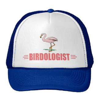 Funny Flamingo Bird Watching Trucker Hat