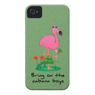 Funny Flamingo iPhone 4/4S Barely There Case Case-Mate iPhone 4 Case