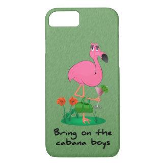 Funny Flamingo iPhone 7 case