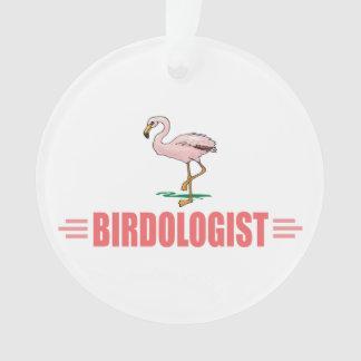 Funny Flamingo Ornament