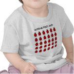 funny flash mob ladybug tee shirt