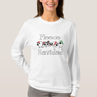 Funny Fleece Navidad Shirt