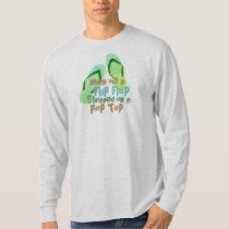 Funny  Flip Flop boat t-shirt