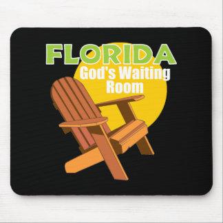 Funny Florida Senior Citizen Gift Mouse Pad