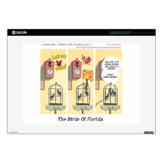 "Funny Florida Stand Your Ground Birds 15"" Laptop Skin"