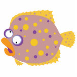 Funny Flounder Photo Cut Out