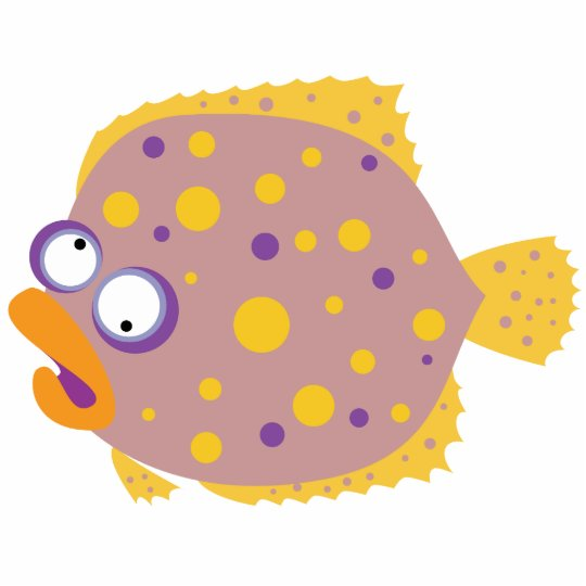 Funny Flounder Statuette