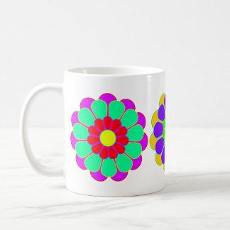 Funny Flower Power Bloom I II III Coffee Mugs