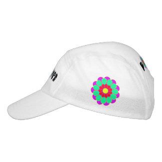 Funny Flower Power Bloom I + your backgr. & idea Headsweats Hat