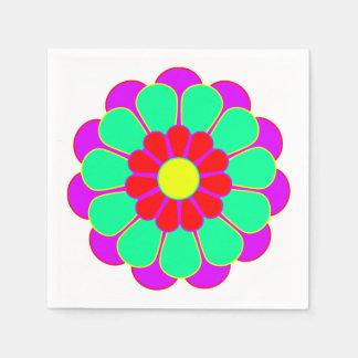 Funny Flower Power Bloom I + your idea Napkin