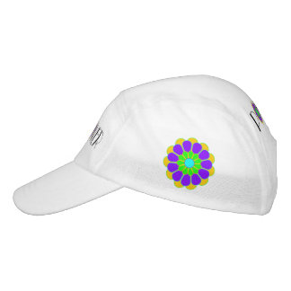 Funny Flower Power Bloom II + your backgr. & idea Hat
