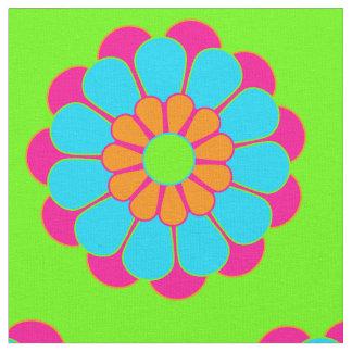 Funny Flower Power Bloom III + your backgr. & idea Fabric