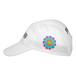 Funny Flower Power Bloom III + your backgr. & idea Headsweats Hat