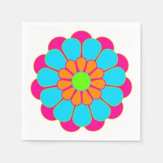 Funny Flower Power Bloom III + your idea Paper Napkin