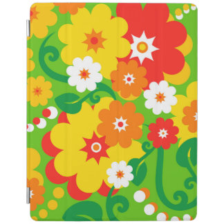 Funny Flower Power Wallpaper iPad Smart Cover