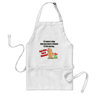Funny Flower Shower T-shirts Gifts Adult Apron