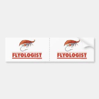 Funny Fly Fishing Bumper Sticker