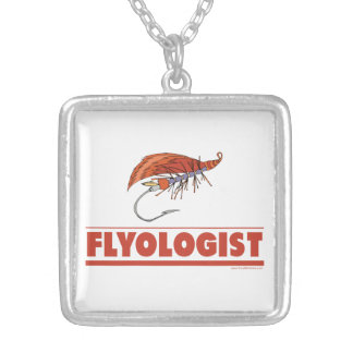 Funny Fly Fishing Necklace
