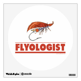 Funny Fly Fishing Wall Sticker