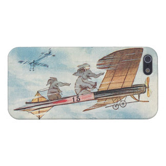 Funny Flying Elephants iPhone SE/5/5s Cover