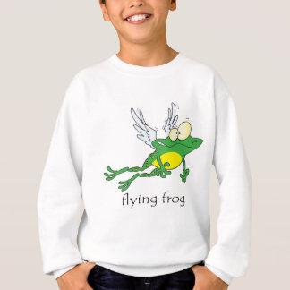 Funny Flying Frog Sweatshirt