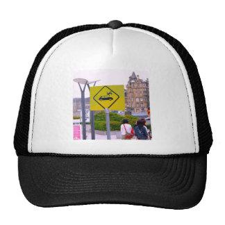 Funny Flying People Trucker Hat