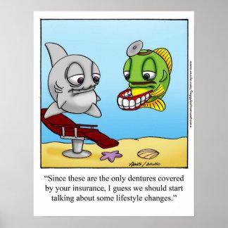 "Funny ""Foggy Bottom"" Cartoon Poster"