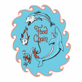 funny food chain vector graphic photo sculpture keychain