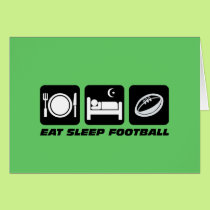 Funny football card
