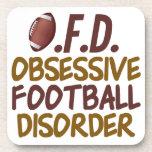 Funny Football Coaster