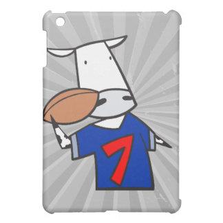 funny football cow cartoon iPad mini cases