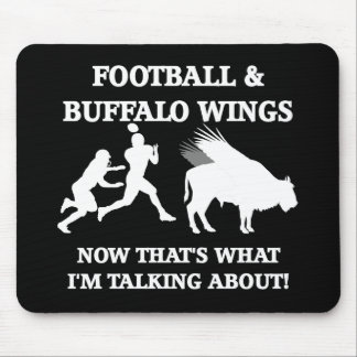 funny football mouse pad
