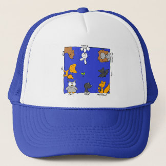 "Funny Forest Animals-""forest friends"" Trucker Hat"