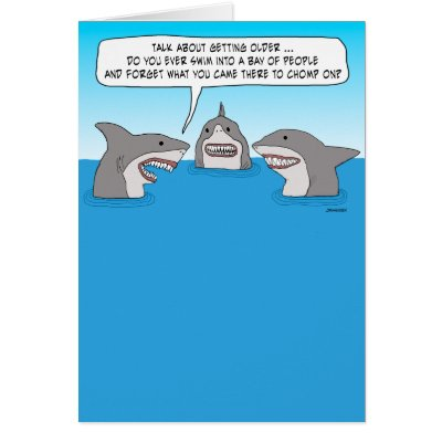 Funny excited shark birthday card zazzle bookmarktalkfo Gallery