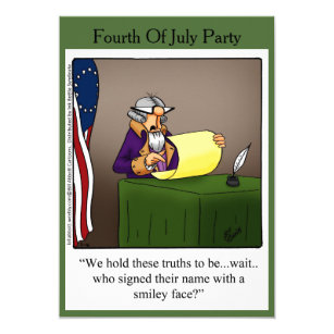 Funny 4th Of July Party Invitations Zazzle